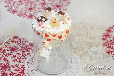 Barattolino di Natale con Gingerbread