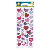 Fun Stickers - Love Hearts