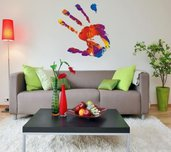 Adesivi colorati Handprint (2660f)