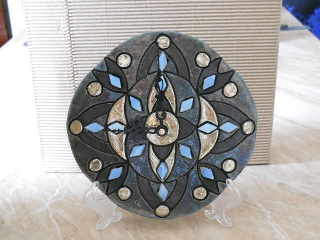 Orologio da parete mandala per la casa e per te for Idee per orologio da parete