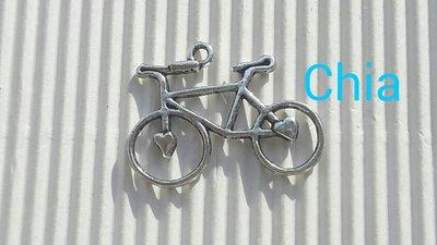 1 charm bicicletta 30x27mm circa