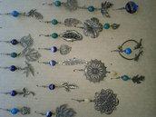 Orecchini pendenti in Bronzo e Perle Naturali