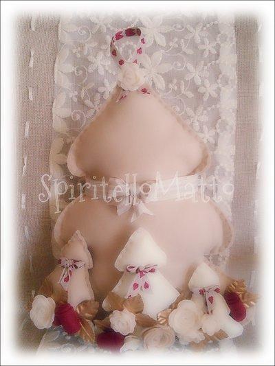 Albero di Natale in tessuto