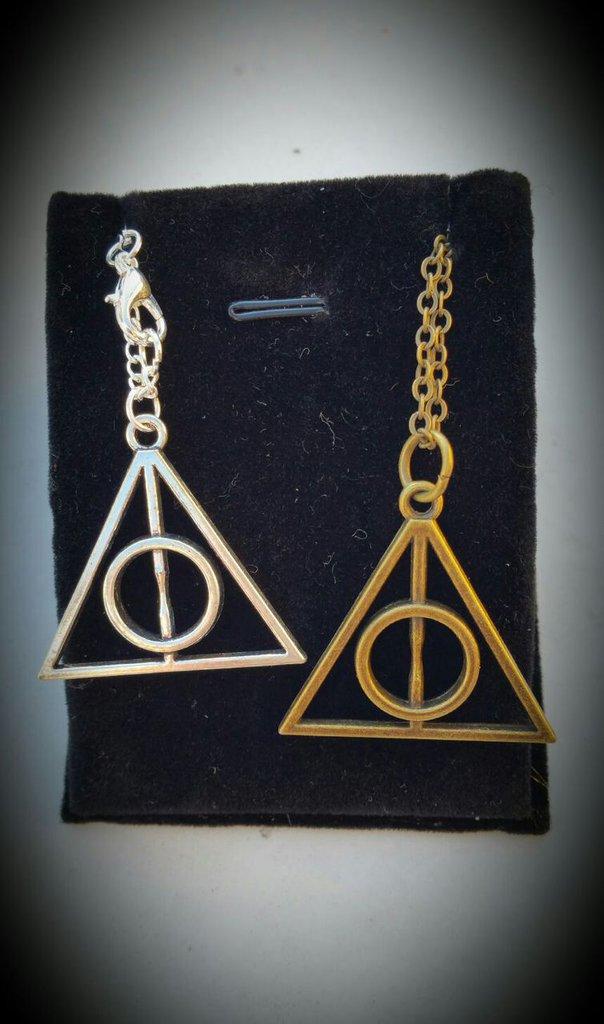 """collana doni della morte """"Harry Potter"""""""