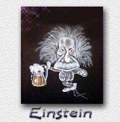 Einstein - aerografata