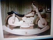 motodondolo di legno