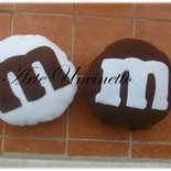 cuscini mignon m&m's