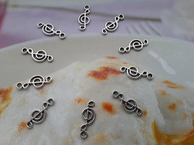 Charms 'Simbolo Musicale'  argento tibetano