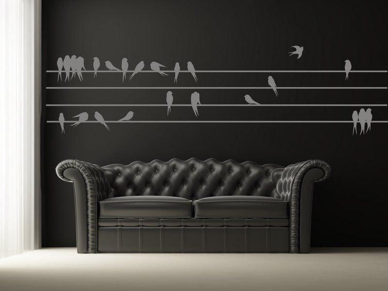 Sagoma per disegnare le rondini (2555x)