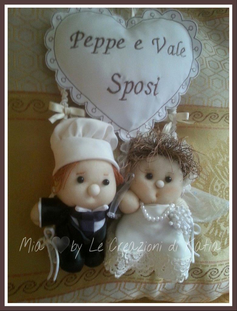 Fiocco Oggi Sposi personalizzato