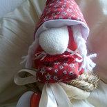 gnometto portafortuna,simpatico e non solo natalizio!!!