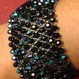 bracciale elegante in cristalli swarovski
