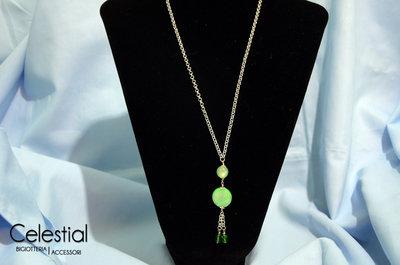 Collana Bambolina - Verde
