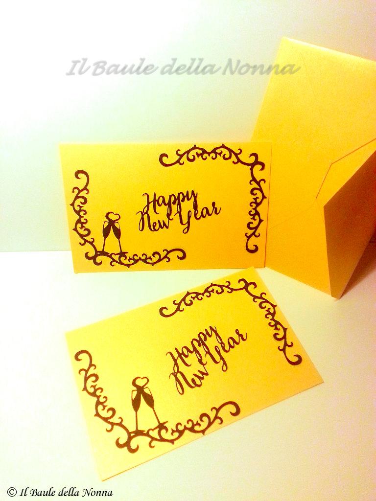BIGLIETTO AUGURI BUON ANNO / HAPPY NEW YEAR CARD (art. 67)