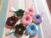 Biscotti in pannolenci realizzati a mano