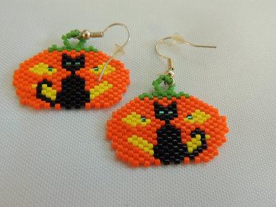 Orecchini zuccone halloween