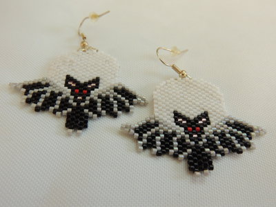 Orecchini pipistrello Halloween