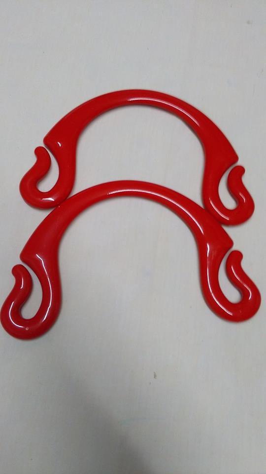 Manici pipioca rosso