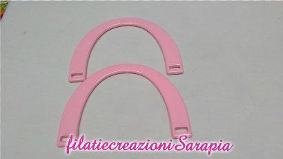 manici mezzaluna rosa
