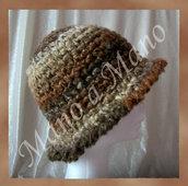 Cappello a cloche - Marrone beige