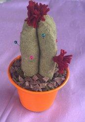 Bomboniera idea regalo piantina cactus puntaspilli