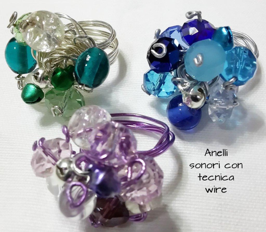 Corso anello sonoro con cristalli