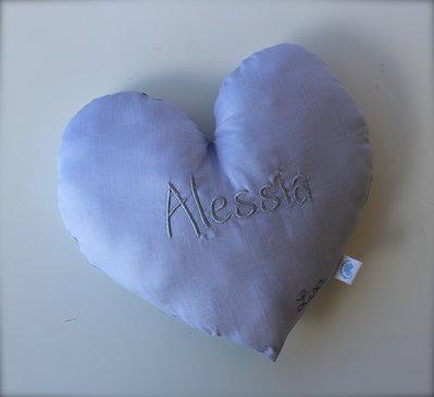 cuscino cuore personalizzato