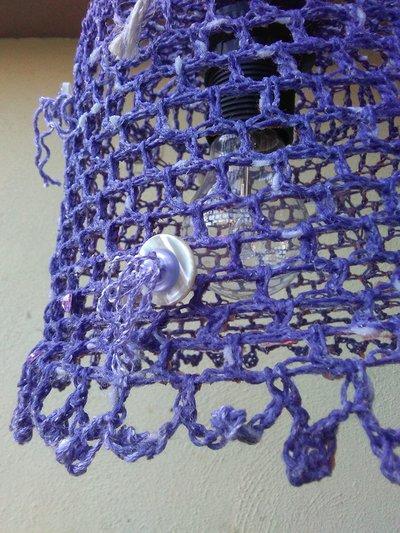 lampadario lilla : lampadario a uncinetto color lilla - Per la casa e per te - Arredam ...