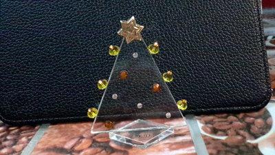 Albero in vetro decorato a mano da collezione