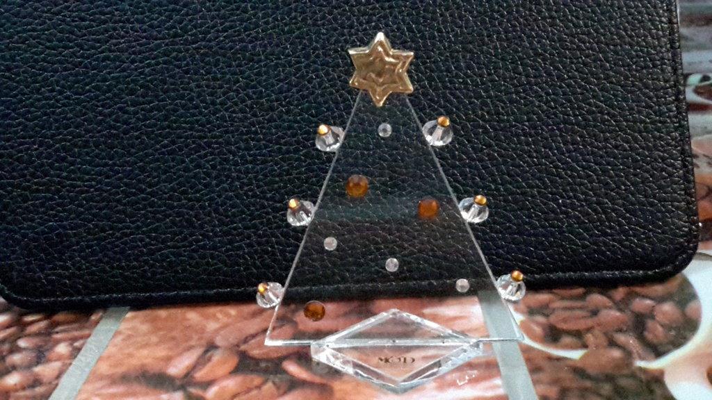 Albero cristallo da collezione
