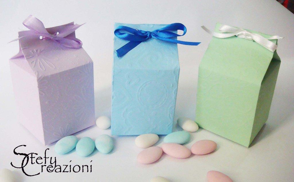 Scatoline Bomboniera Latte