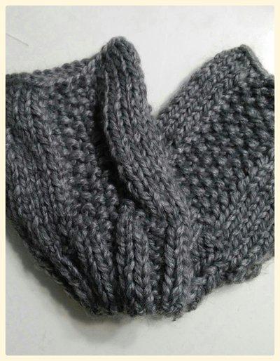 Mezzi guanti in lana donna maglia ai ferri