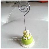 Mini cake con rose e farfalla