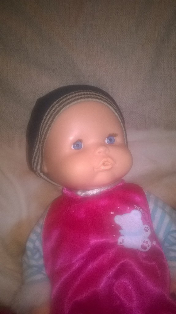 beretto per la bambola