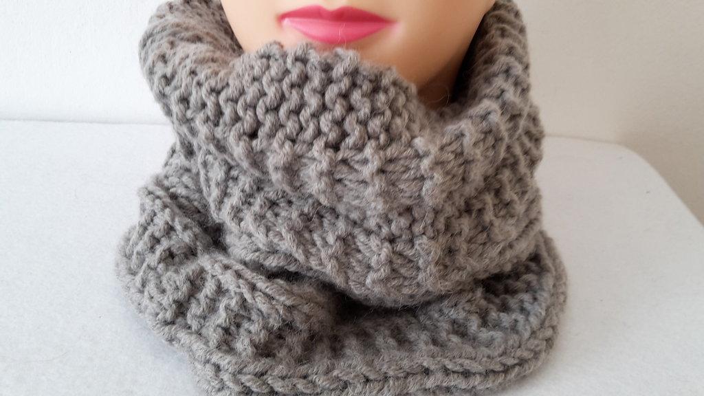 scalda collo e cappello in lana