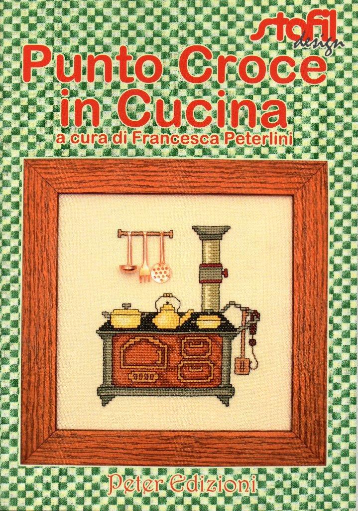 rivista punto croce in cucina