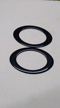 manici ovali nero