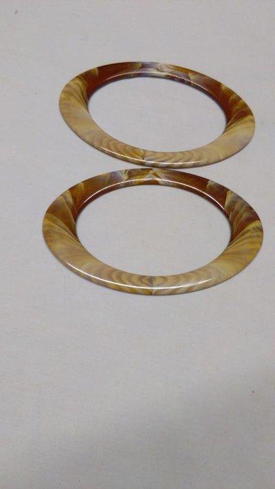 manici ovali corno