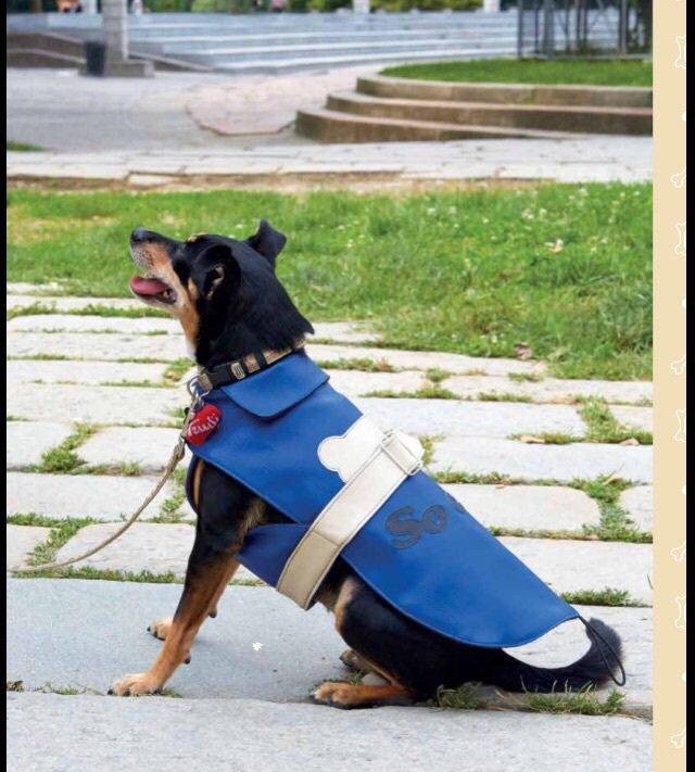 Vestito cane ecopelle