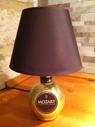 """Lampada da tavolo """"Il cioccolato di Mozart"""""""