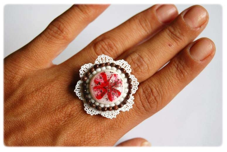 Strawberry Cake Ring