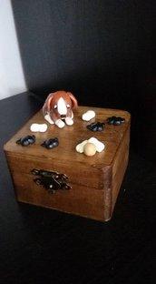 scatolina portagioie beagle