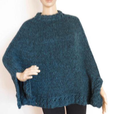 mantella donna in lana