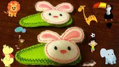 Mollette per capelli-Set due pezzi-Bunny