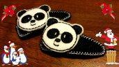 Mollette per capelli-Set due pezzi-Il Panda