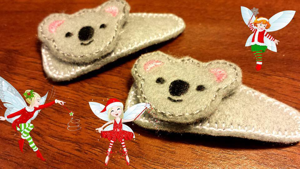 Mollette per capelli-Set due pezzi-Il Koala