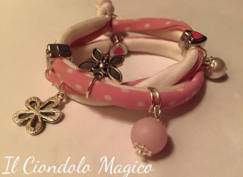 Bracciale Lycra Pink passion