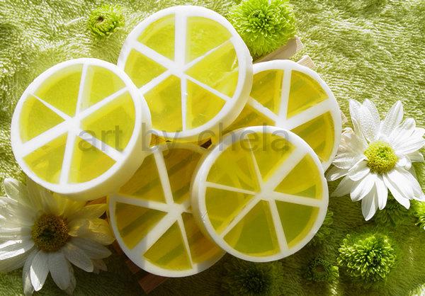 Lemon Slice > jabón cítrico de glicerina