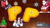 Mollette per Capelli-Set due pezzi-Lettera P