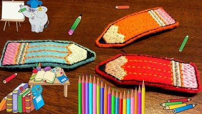 Mollette per capelli-Set due pezzi-Le Matite colorate